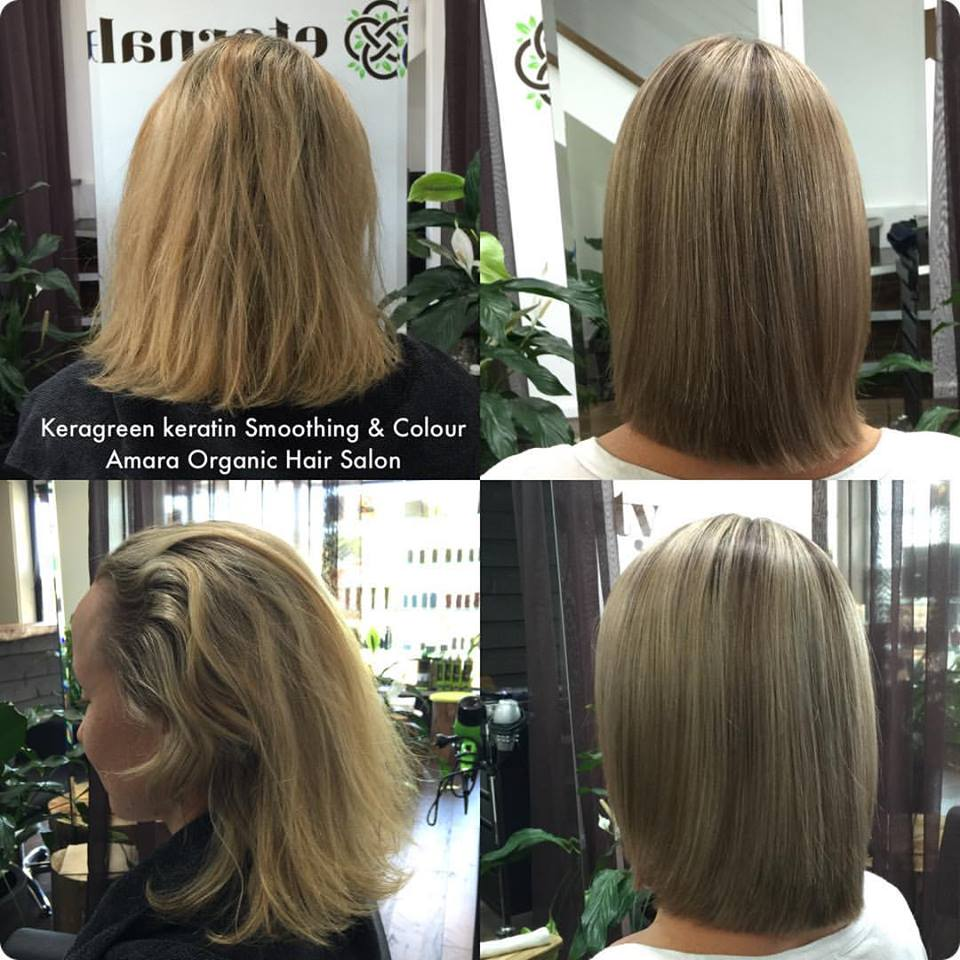 Keratin Hair Smoothing Gold Coast Amara Organic Hair Salon